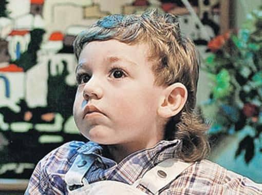 Сын Николая Баскова – Бронислав Шпигель фото