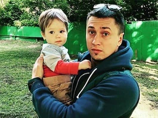 Сын Павла Прилучного (актер) – Тимофей фото