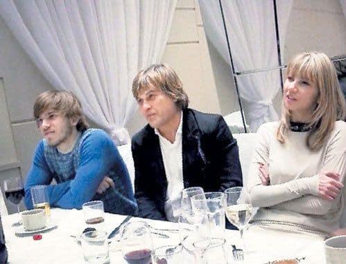 Сыновья Алексея Глызина – Алексей и Игорь фото
