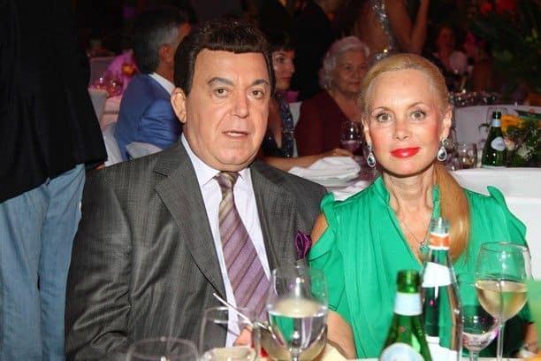 Жена Иосифа Кобзона – Кобзон Нинель Михайловна фото