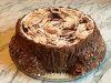 Торт трухлявый пень. Пошаговый рецепт с фото в домашних условиях