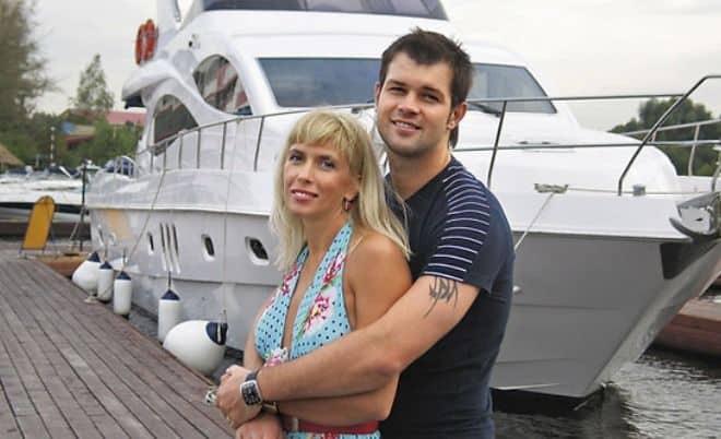 Бывший гражданский муж Алёны Свиридовой – Дмитрий Мирошниченко фото