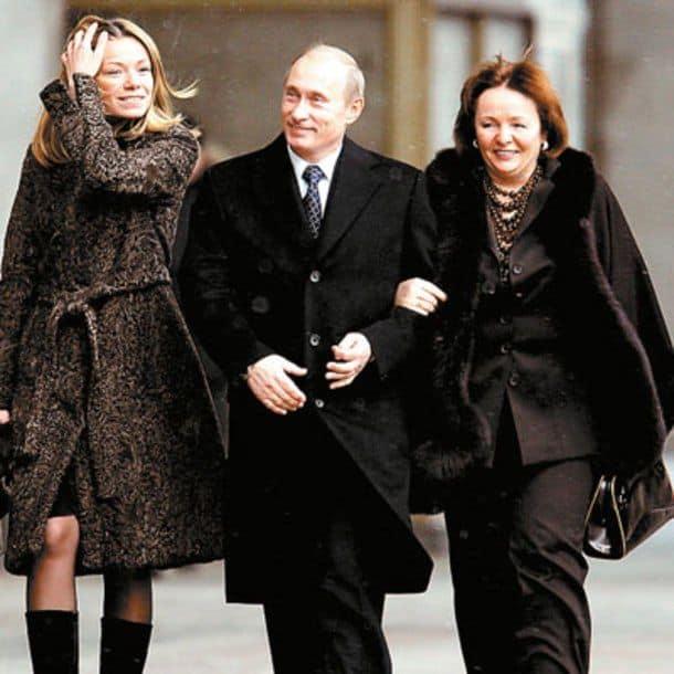 Дети Путина Маша и Катя, фото