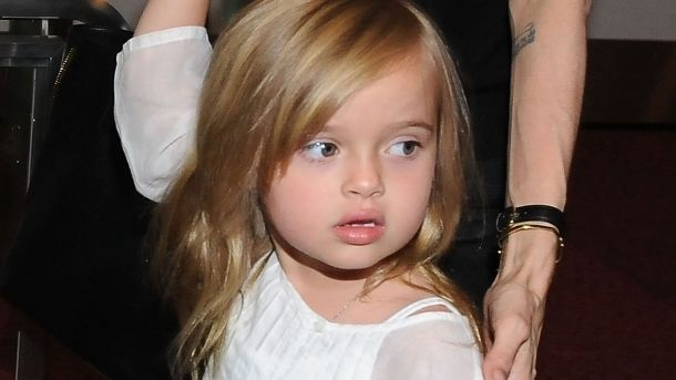 Дочь Анджелины Джоли – Вивьен Маршелин Джоли – Питт фото
