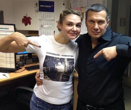 Инстаграм и Википедия Владимира Соловьева фото