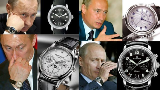 Какие часы носит Путин фото