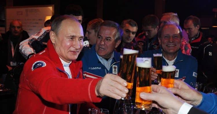 Какое пиво любит Путин фото