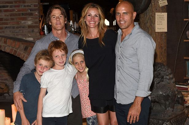 Семья и дети Джулии Робертс фото