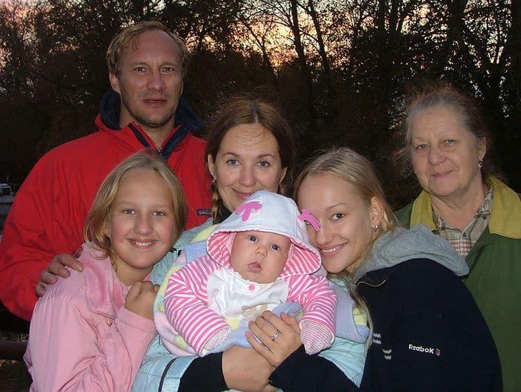 Семья и дети Евгения Сидихина фото