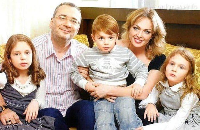 Семья и дети Константина Меладзе фото