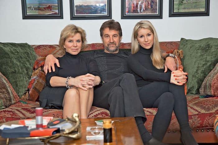 Семья и дети Леонида Ярмольника фото