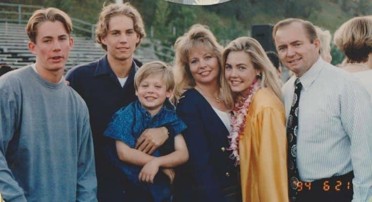 Семья и дети Пола Уокера фото