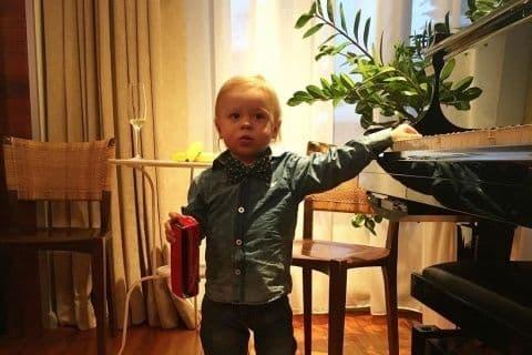 Сын Владимира Преснякова – Артемий Пресняков фото