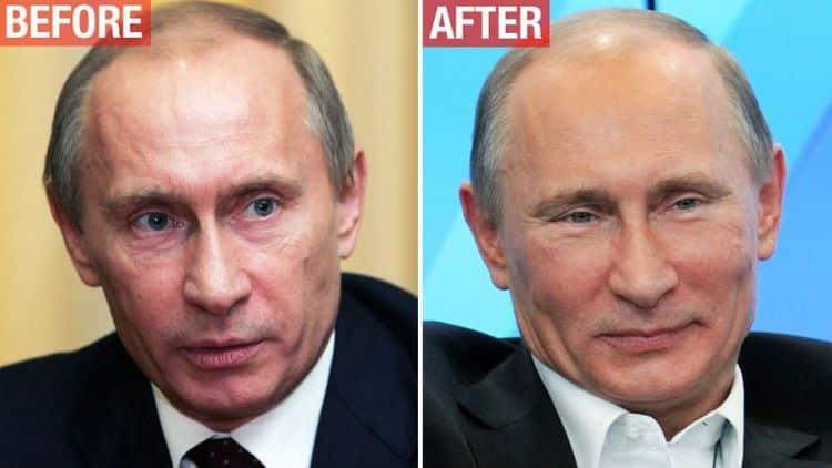 У Путина есть двойник фото