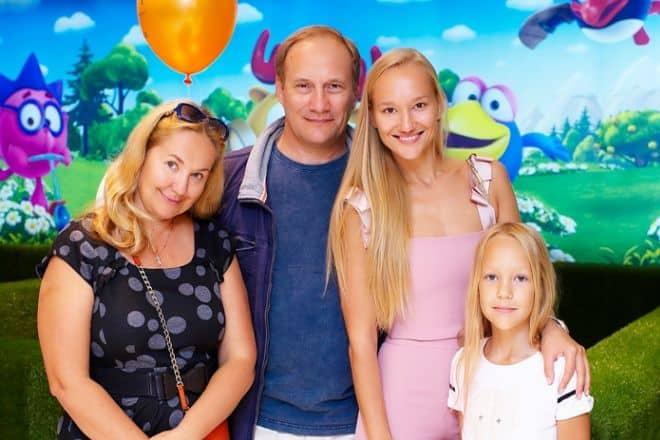 Жена Евгения Сидихина – Татьяна Борковская фото