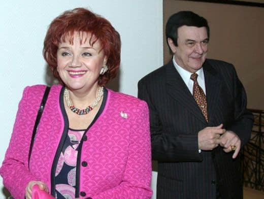 Жена Муслима Магомаева – Тамара Синявская фото