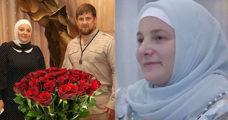 Жена Рамзана Кадырова — Медни Айдамирова фото