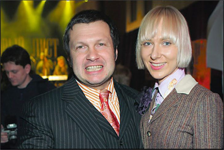 Жена Владимира Соловьева – Эльга Сэпп фото
