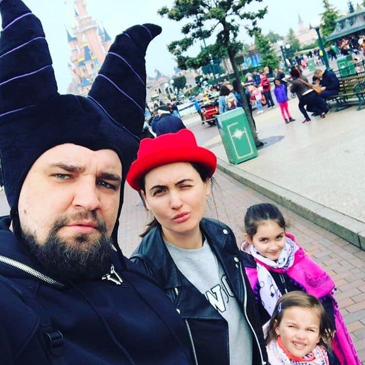 Семья и дети Басты (Василий Вакуленко) фото