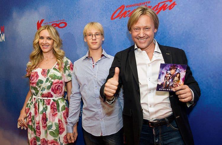 Семья и дети Дмитрия Харатьяна фото