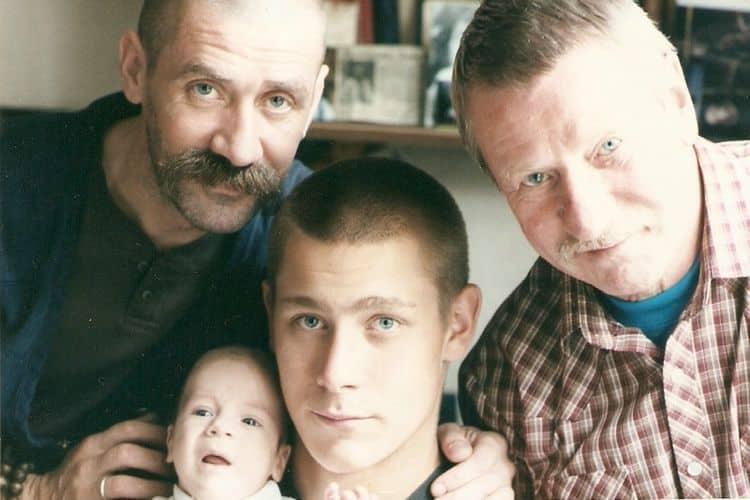 Семья и дети Ивана Краско фото