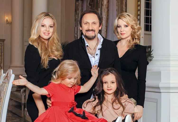 Семья и дети Стаса Михайлова фото