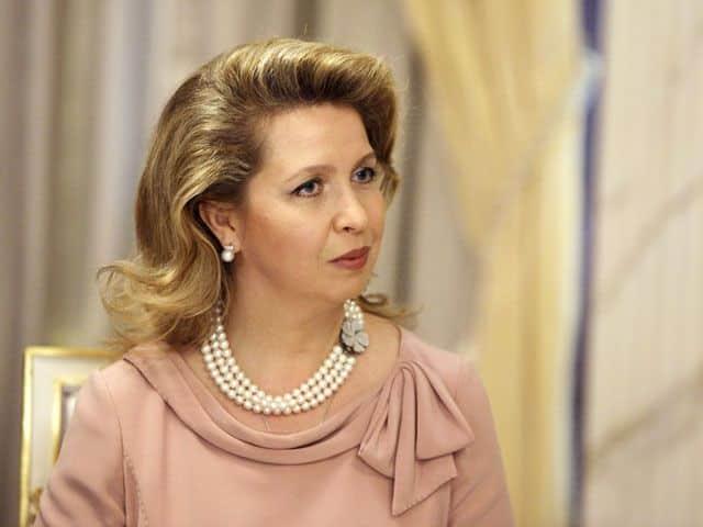 Жена Дмитрия Медведева – Светлана Медведева фото