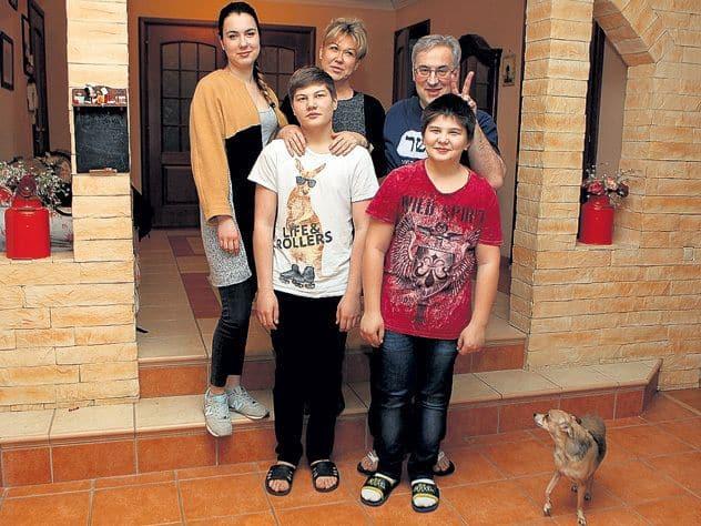 Семья и дети Андрея Норкина фото