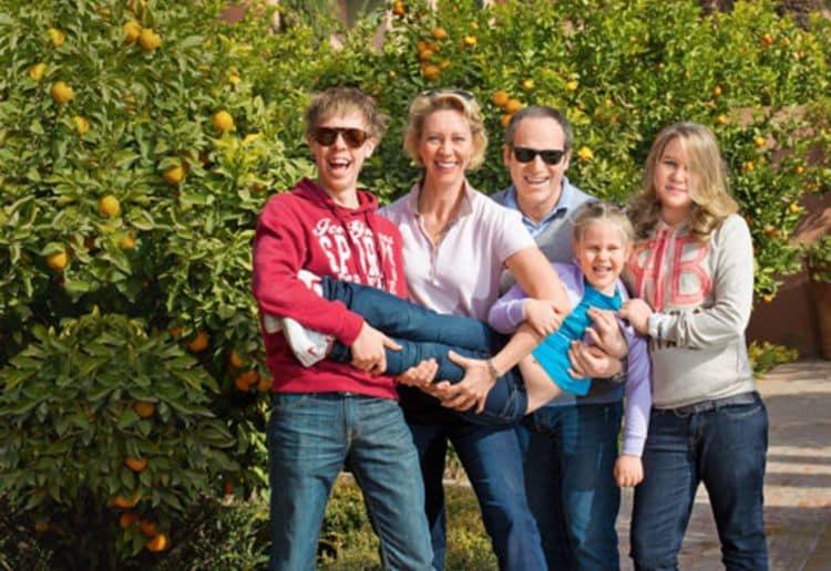 Семья и дети Михаила Шаца фото