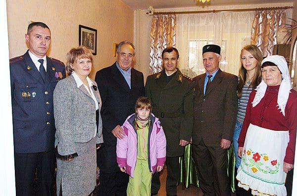 Семья и дети Рашида Нургалиева фото