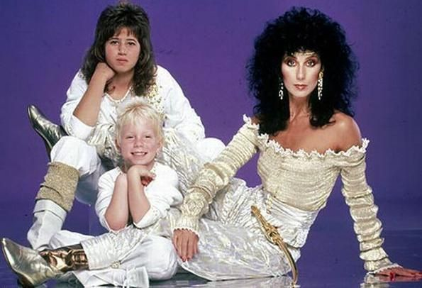 Семья и дети Шер (певица) фото
