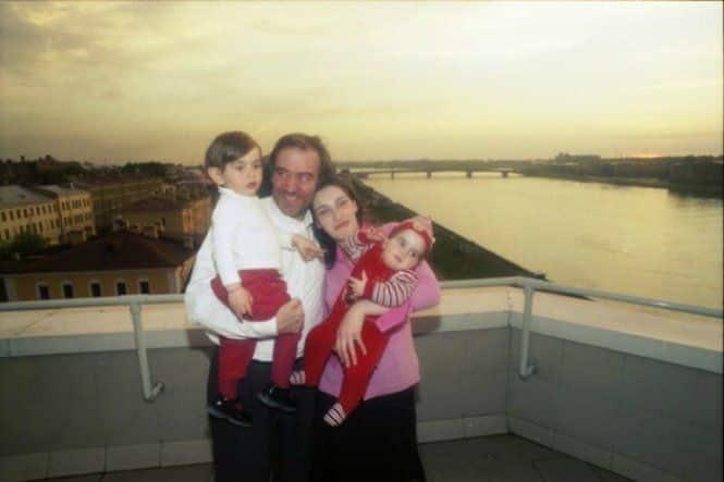 Семья и дети Валерия Гергиева фото