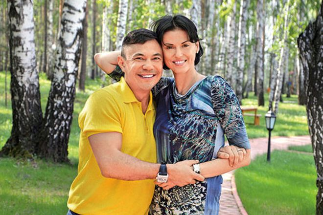 Жена Кости Цзю – Татьяна Аверина фото