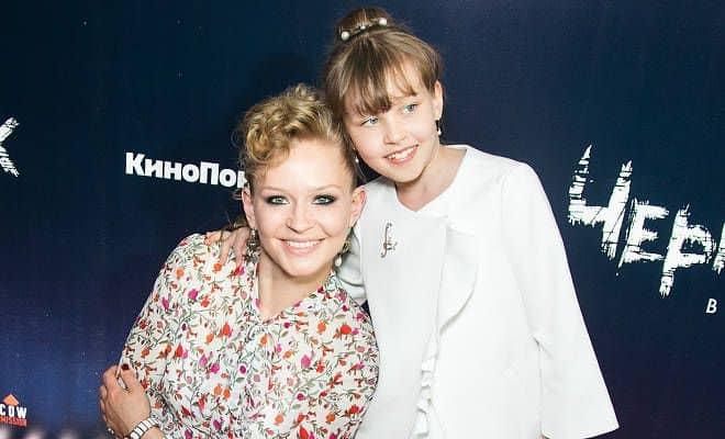 Дочь Алексея Учителя – Мария фото