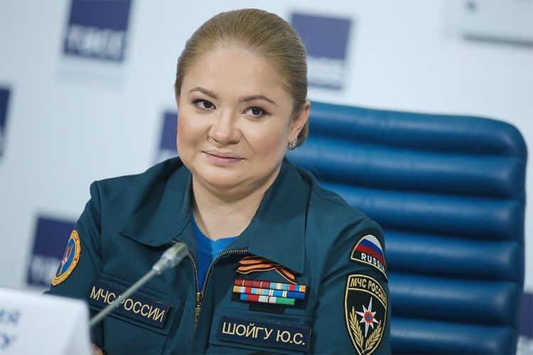 Дочь Сергея Шойгу – Юлия Шойгу фото