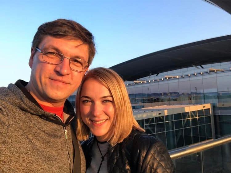 Гражданская жена Дмитрия Орлова – Наталья Бражник фото