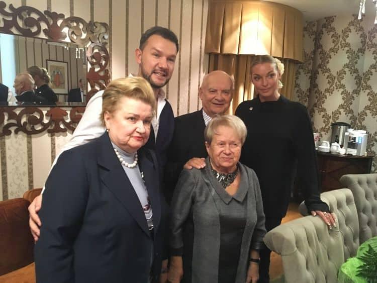 Семья и дети Александры Пахмутовой фото