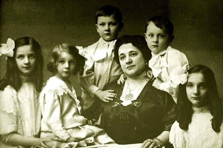 Семья и дети Федора Шаляпина фото