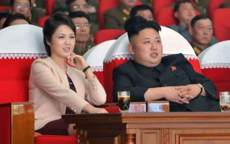 Семья и дети Ким Чен Ына фото