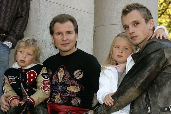 Семья и дети Никиты Малинина