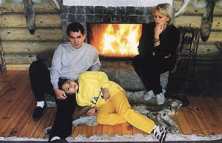 Семья и дети Сергея Шойгу фото