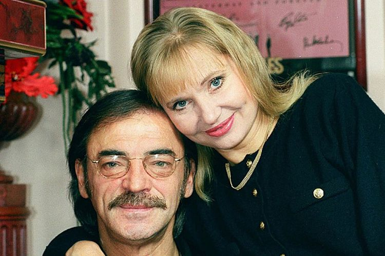 Жена Михаила Боярского – Лариса Луппиан фото