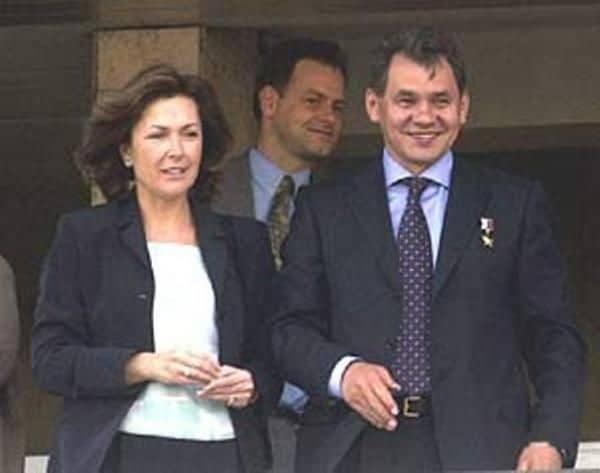 Жена Сергея Шойгу – Ирина Шойгу фото