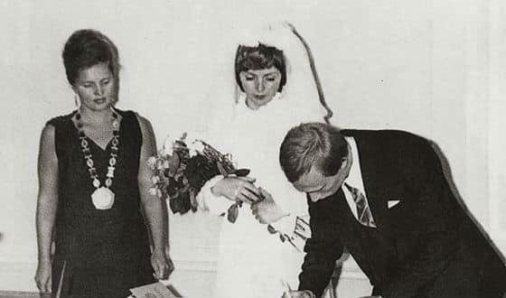 Регистрация брака Людмилы и Владимира Путина
