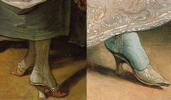 Ножка небольшого размера