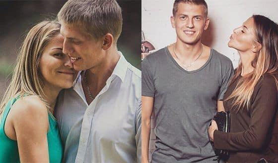 Алексей Щербаков и его жена