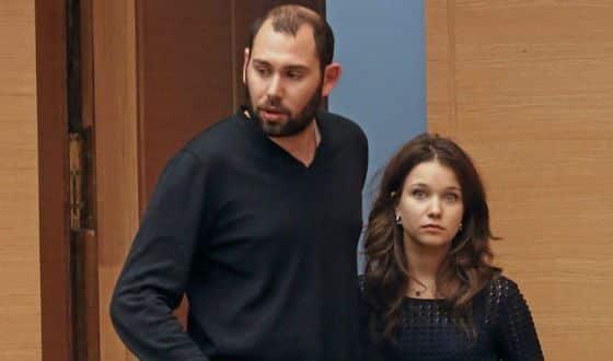 Семен Слепаков и его жена