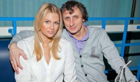 Вадим Галыгин и его жена