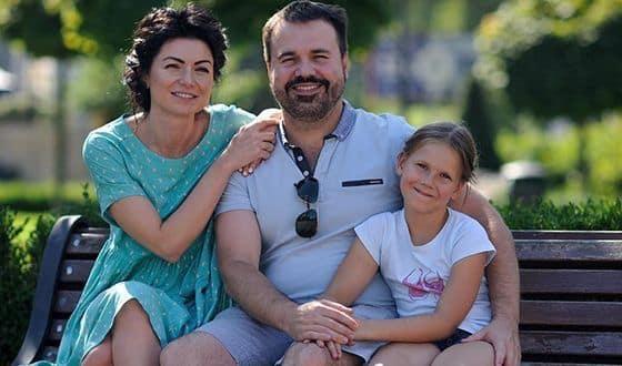 Антон Лирник и его жена