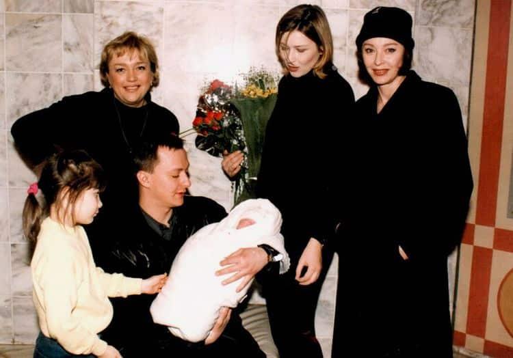 Дети и внуки Марианны Вертинской фото
